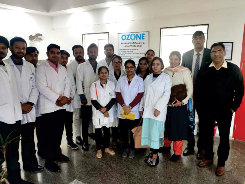 Industry Visit to OZONE